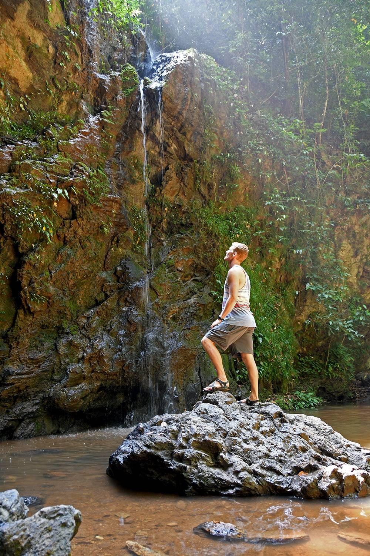 Things to do in Koh Lanta Thailand Khlong Jark Waterfall