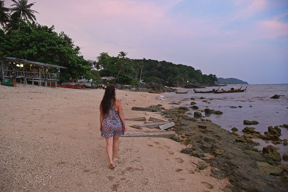 Things to do in Koh Lanta Thailand beach sunset