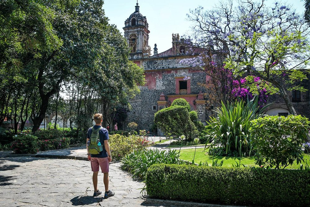 3 Days in Mexico City Itinerary Church in San Angel