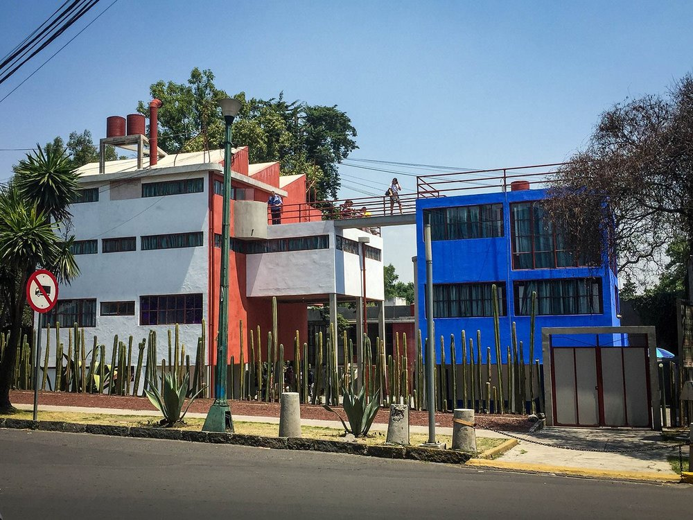 3 Days in Mexico City Itinerary Frida Kahlo House