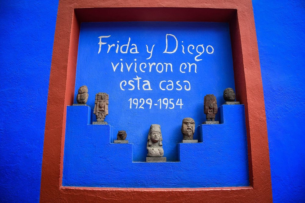 3 Days in Mexico City Itinerary Frida Kahlo Museum