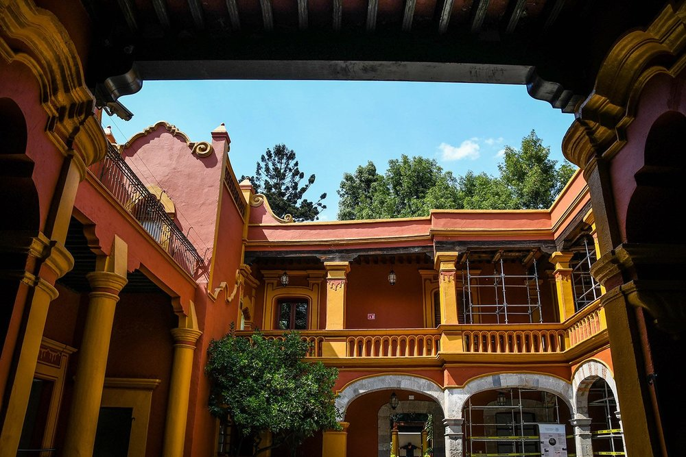 3 Days in Mexico City Itinerary Coyoacan Fonoteca Nacional
