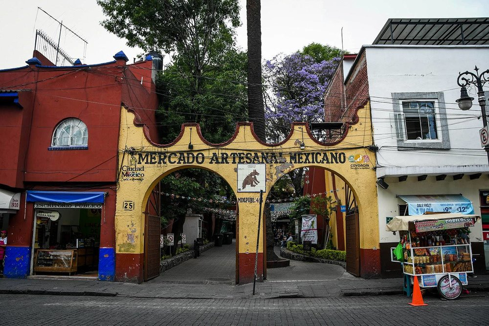 3 Days in Mexico City Itinerary Coyoacan Mercado de Artesanal Mexicano