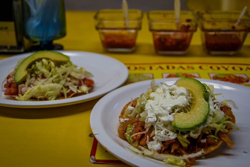 3 Days in Mexico City Itinerary Coyoacan Mercado Tostadas