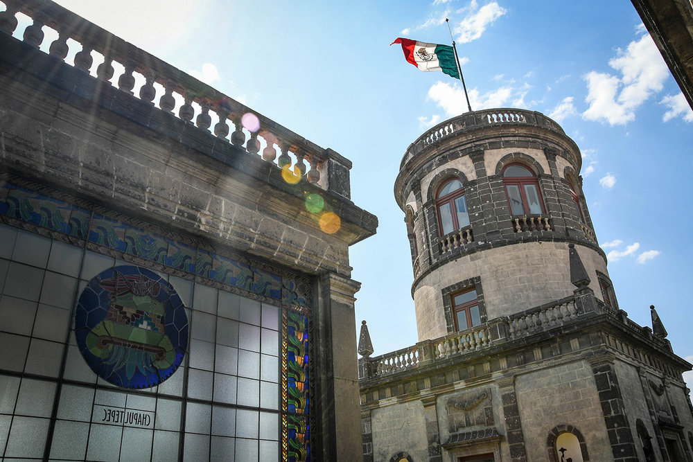3 Days in Mexico City Itinerary Chapultapec Castle