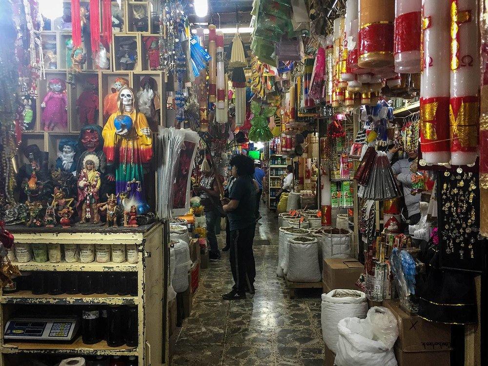 3 days in Mexico City Itinerary Mexican Market