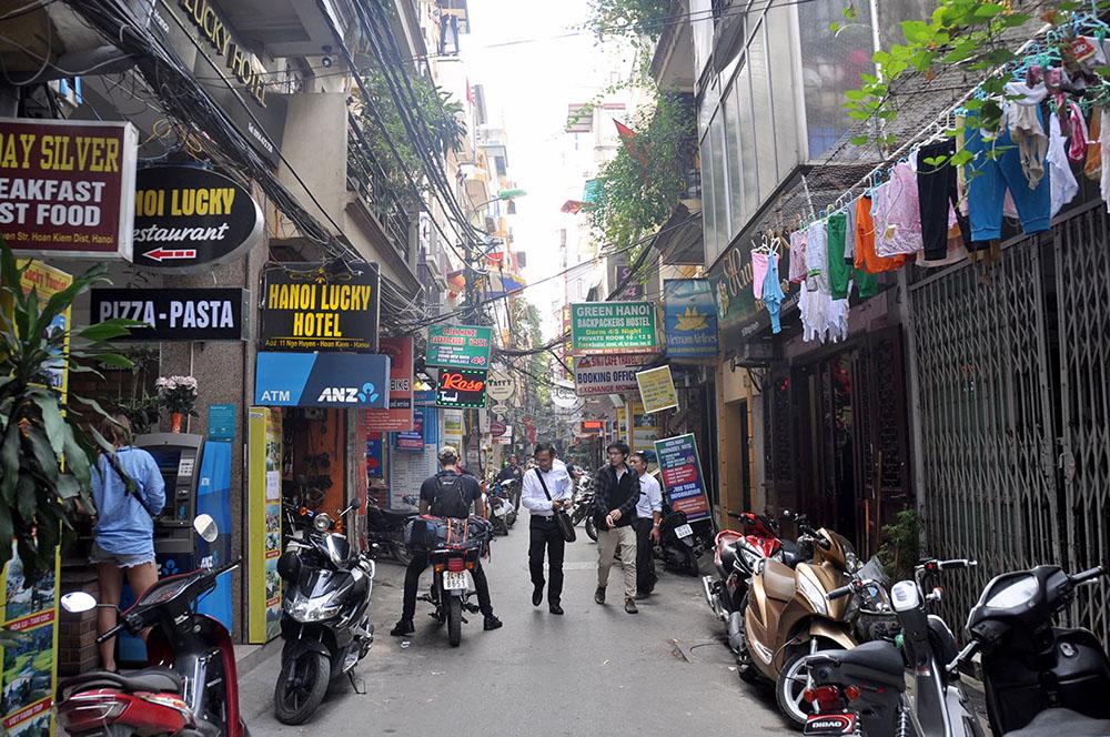 Hanoi Street Vietnam Itinerary