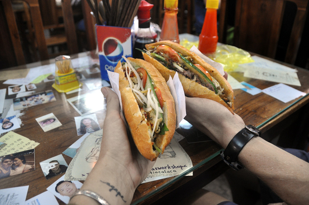 Banh Mi Sandwich Hoi An Vietnam Itinerary