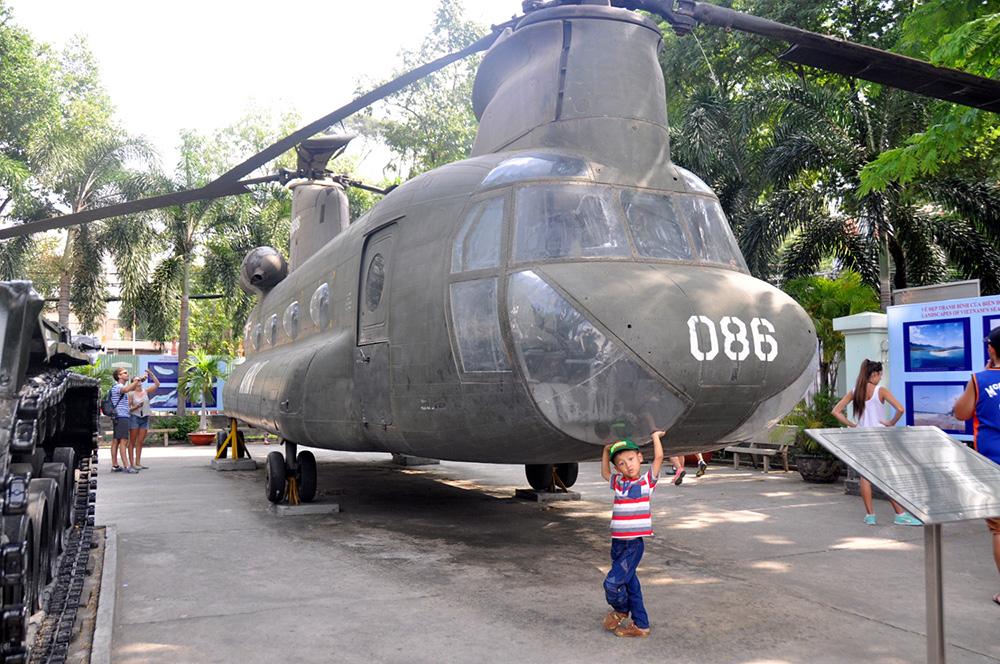 American War Helicopter Saigon Vietnam Itinerary