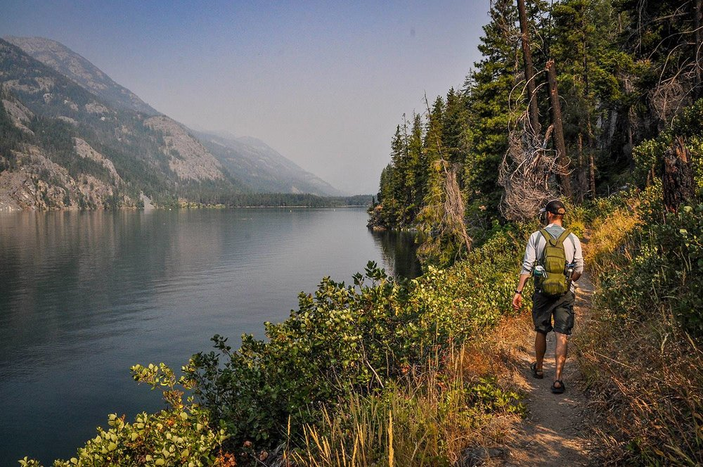 Best Things to Do in Washington State Stehekin Hiking Lakeshore