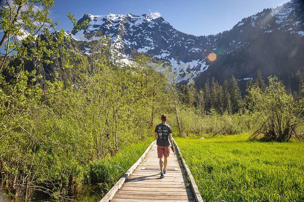 Best Things to Do in Washington State Big Four Mountain