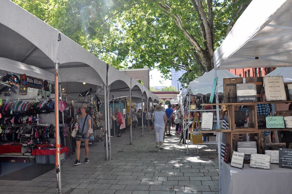Things to do in Portland Oregon Farmers Market