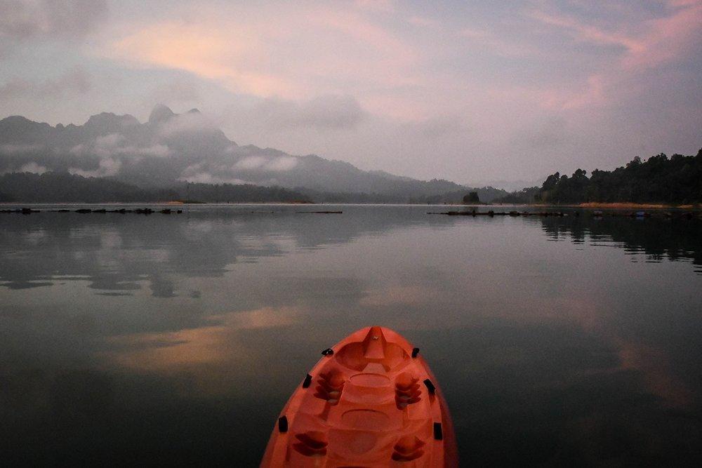 Khao Sok National Park Travel Guide Cheow Lan Lake Sunrise