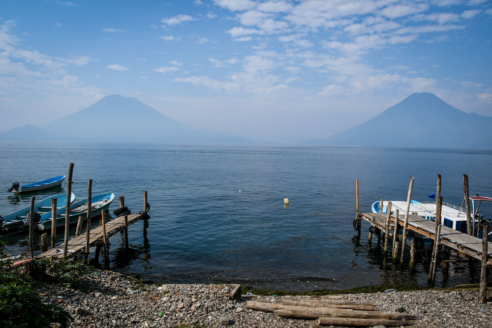 Things to Do in Lake Atitlan: Docks and Volcanoes