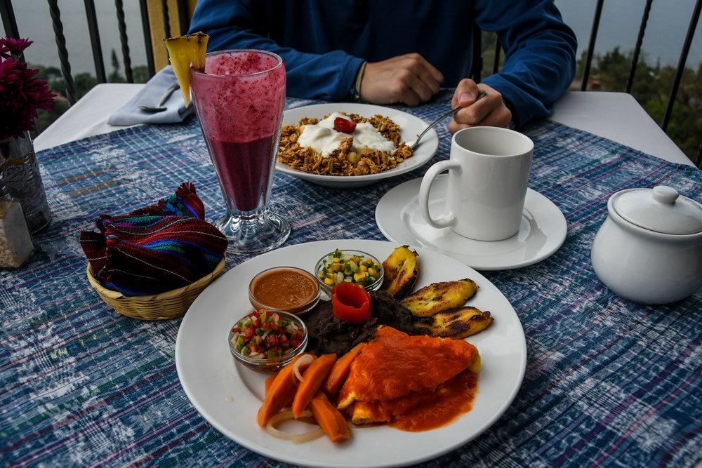Things to Do in Lake Atitlan: CECAP Restaurant Meal