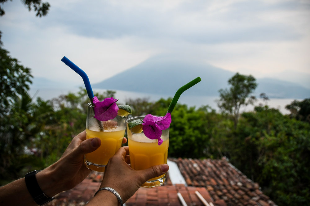 Things to Do in Lake Atitlan: Drinks with a view
