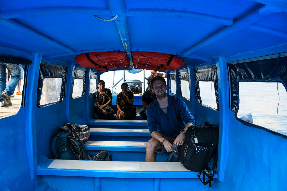 Things to Do in Lake Atitlan: Ben in Lanchas Boats