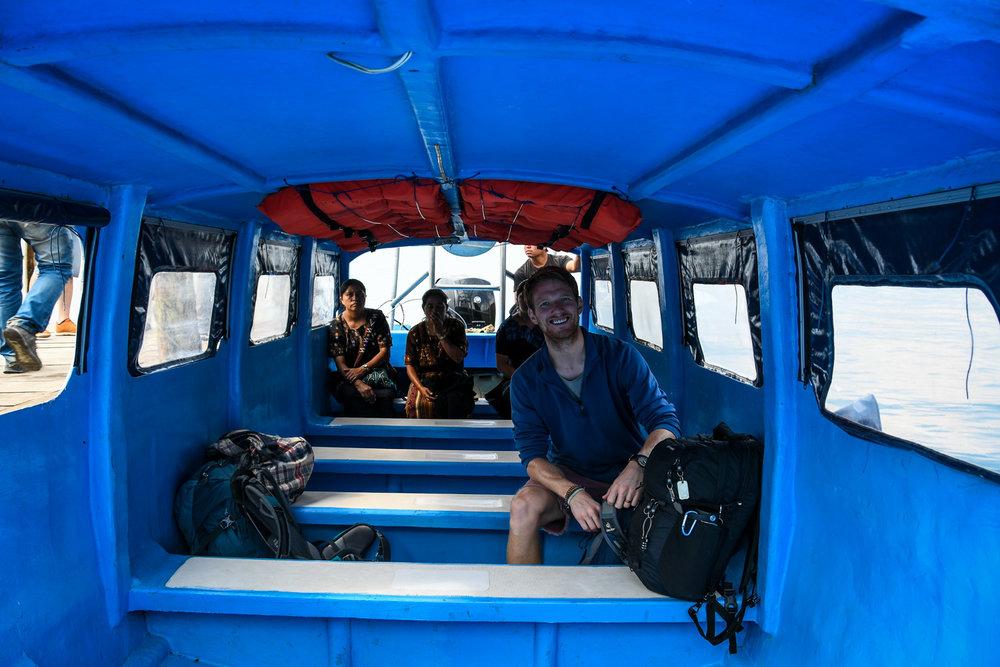 Things to Do in Lake Atitlan: Ben in Lanchas Boats