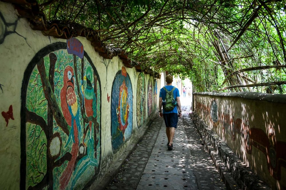 Things to Do in Lake Atitlan: Path in San Marcos