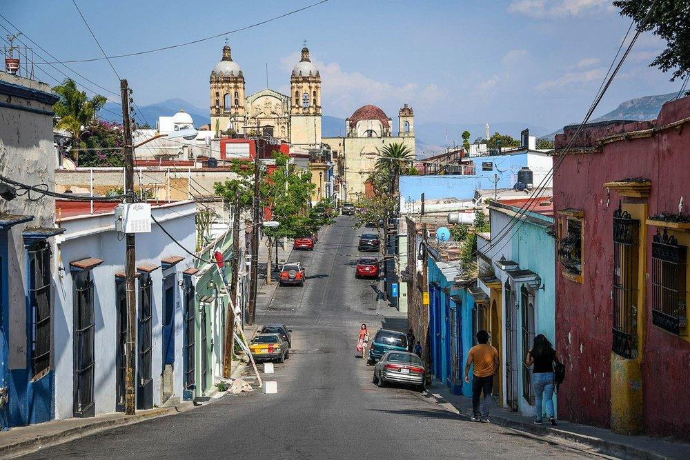 Things to Do in Oaxaca Santa Domingo Church and Street