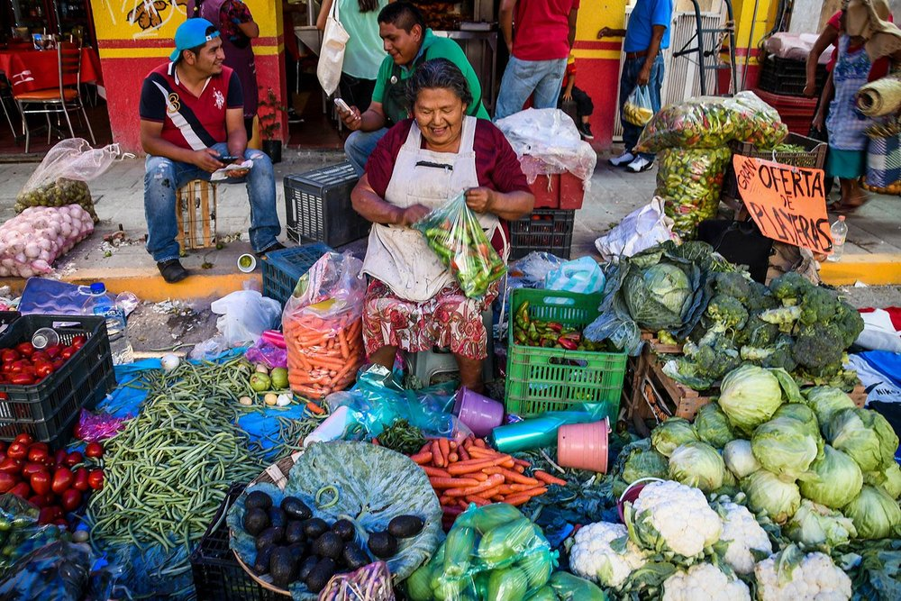 Things to Do in Oaxaca Explore the Markets Vegetables