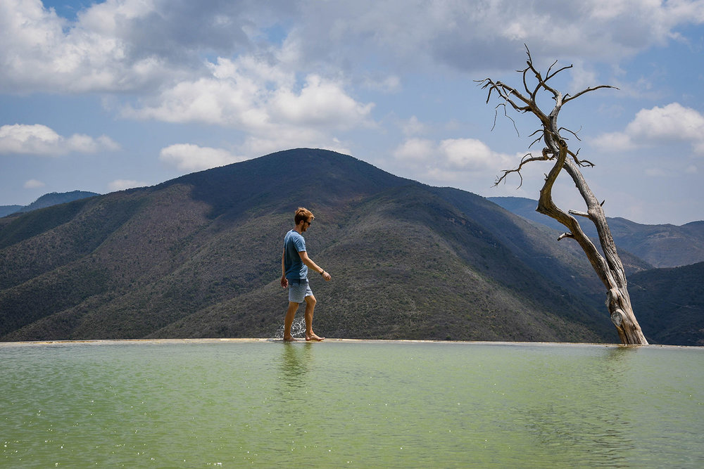 Things to Do in Oaxaca Hierve el Agua