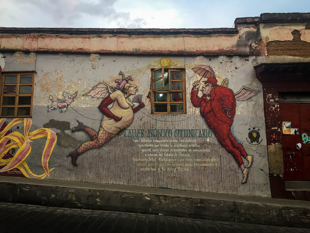 Things to Do in Oaxaca Street Art