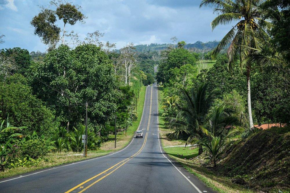 Renting a Car in Costa Rica Open Road