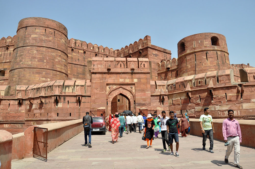 Agra India Travel Guide Red Fort
