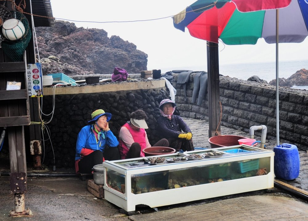 Jeju Island Ajumma Divers