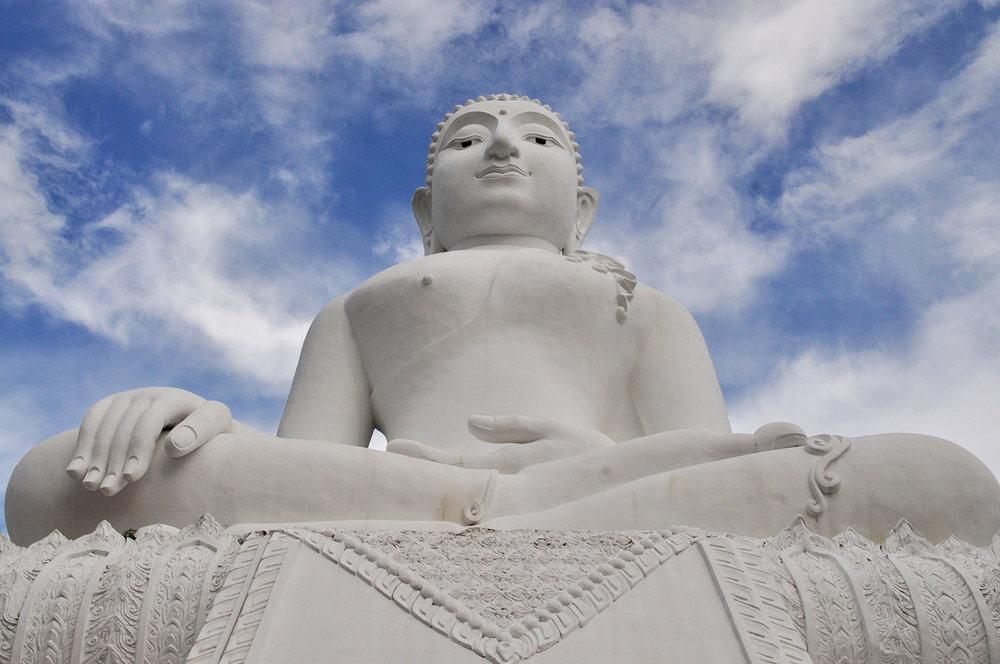White Buddha Pai Thailand