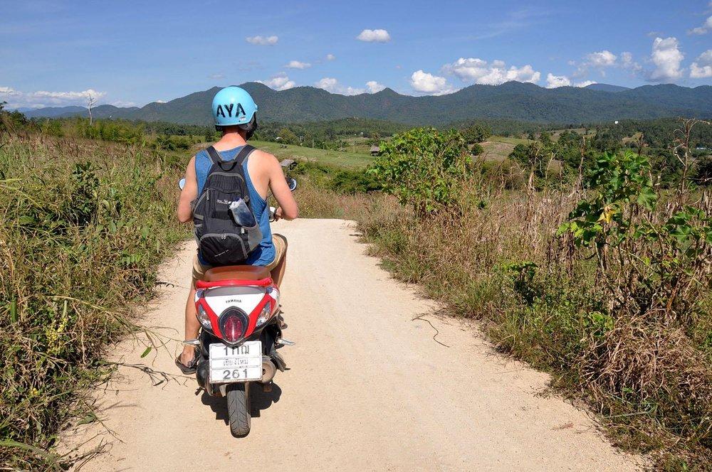 Pai Thailand Motorbike