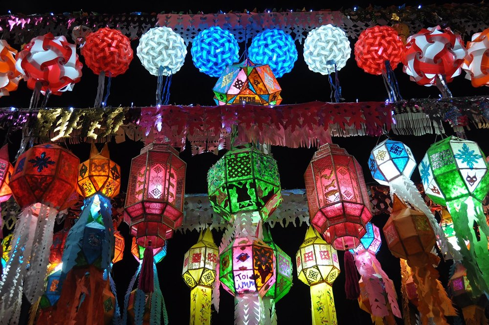 Dont Miss Gentle Beauty Of Lanterns For >> Loy Krathong Yi Peng Travel Guide Thailand S Famous Lantern