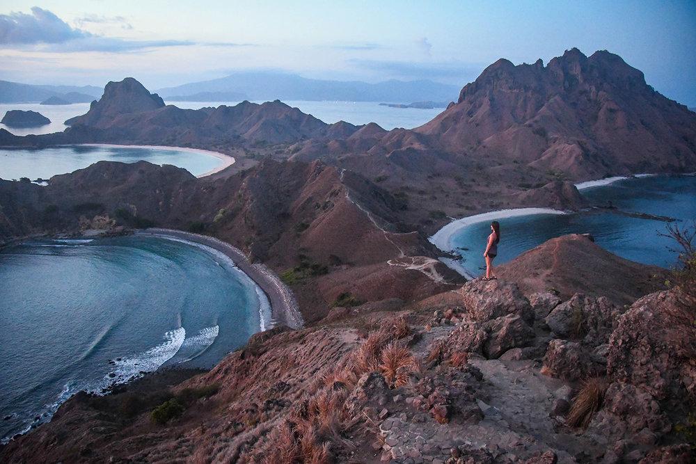 Komodo Scuba Liveaboard Padar Island