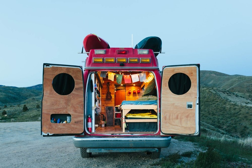 Campervan Rockstar Tobias Scott Photography