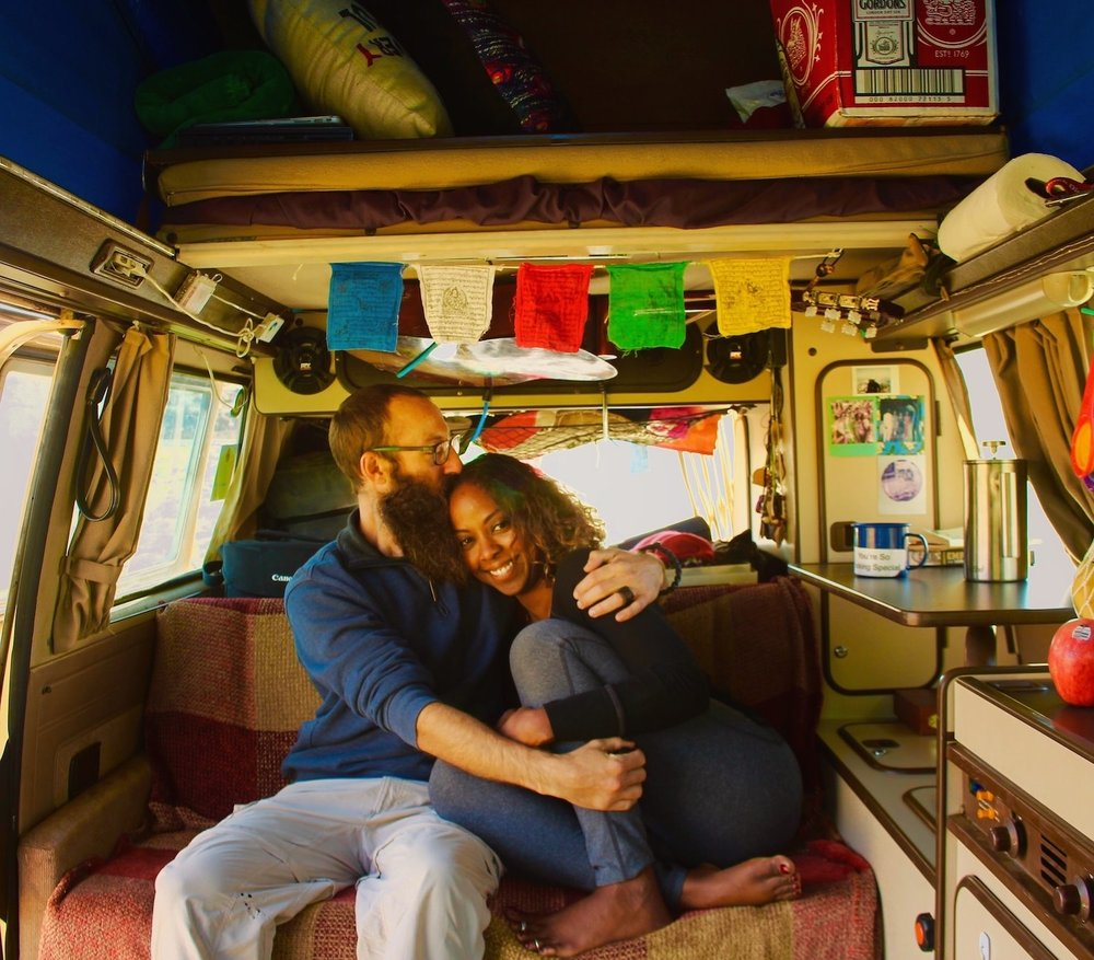 Campervan Rockstars Advice Noami and Dustin