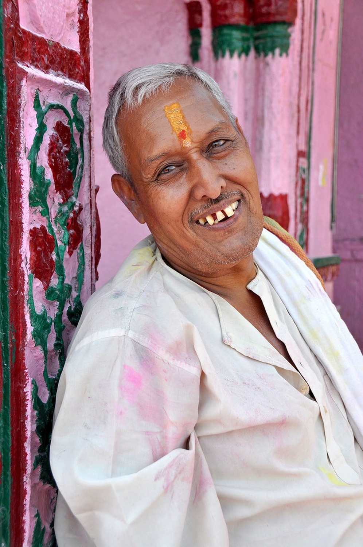 India Holi Hai Portrait