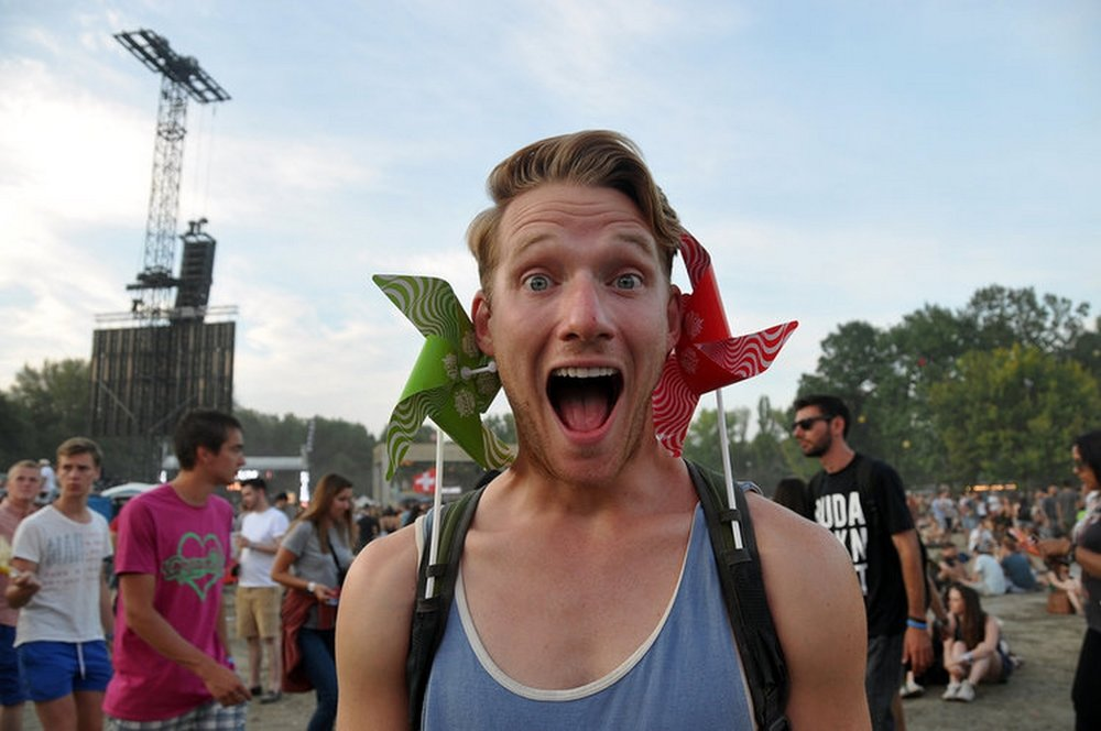 Sziget Music Festival Pinwheel Things to Do in Budapest Travel
