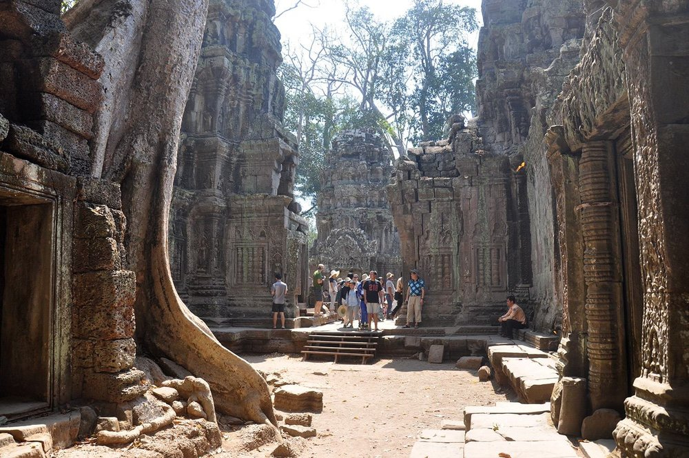 Two Weeks in Cambodia Itinerary Angkor Wat Temples Ta Phrom