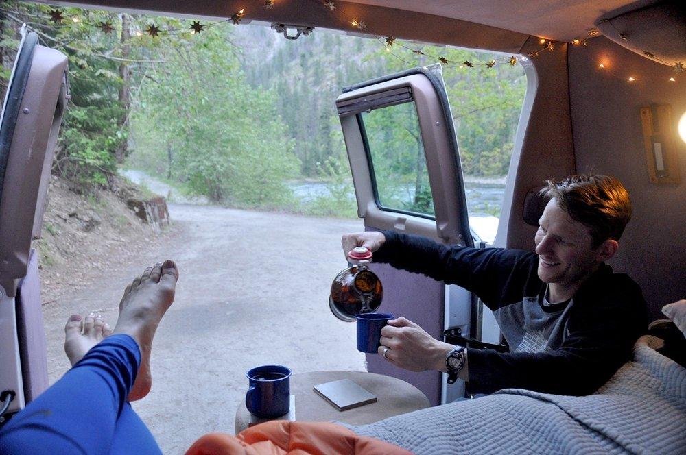 Campervan Budget 3 Month Road Trip Drinks