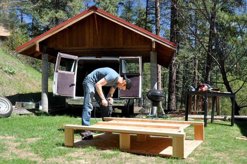 Cheap and easy DIY Campervan conversion