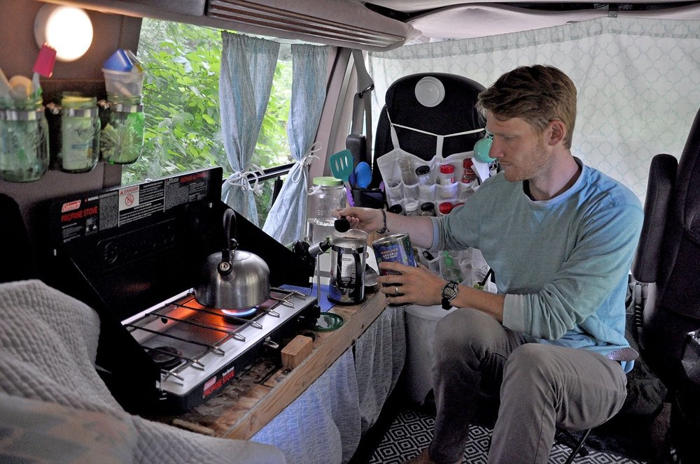 Campervan Kitchen DIY