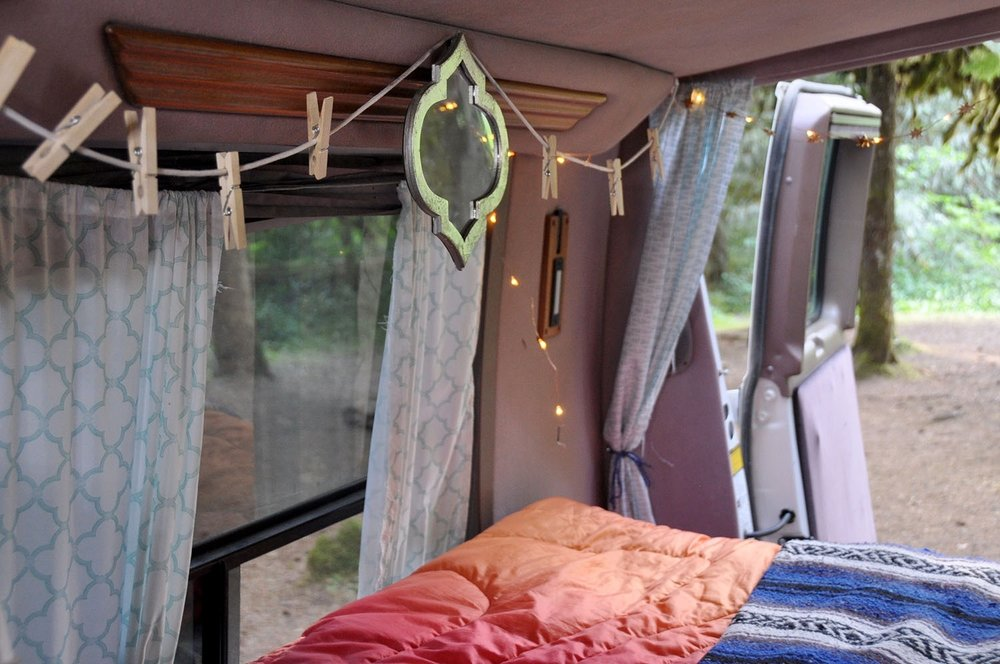 Cheap and easy DIY Campervan conversion