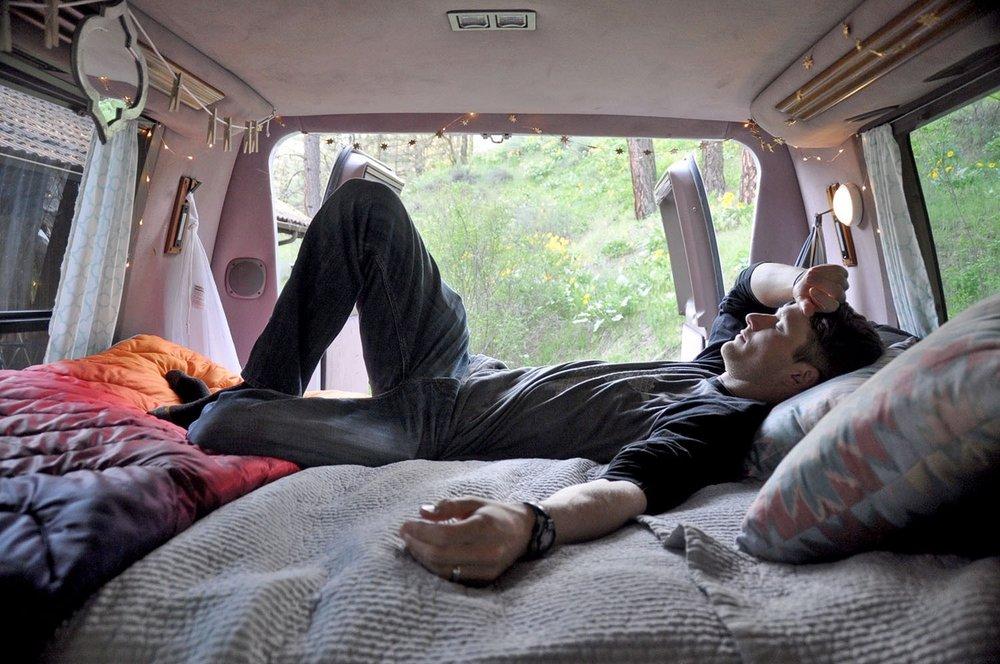 Campervan living
