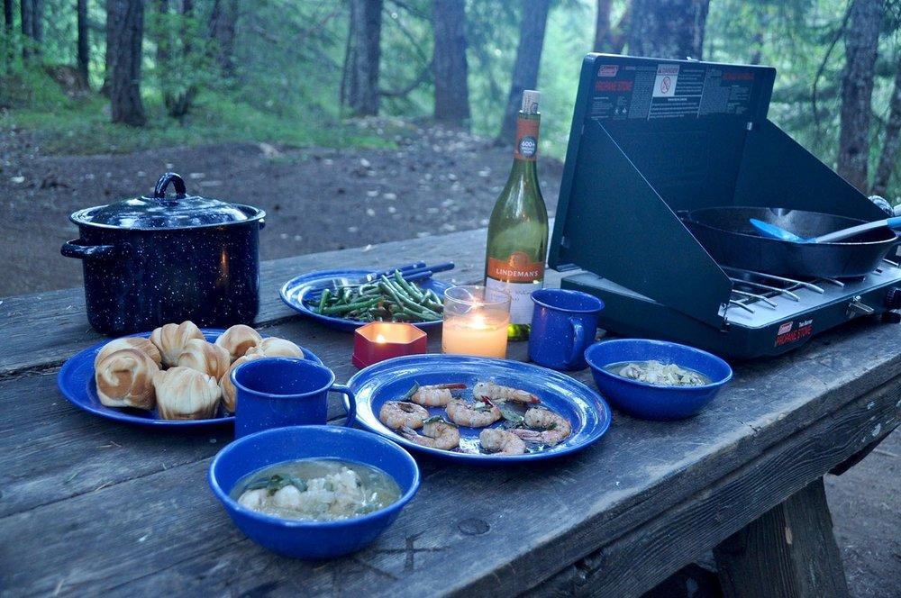 Van Life Q&A Camping cooking