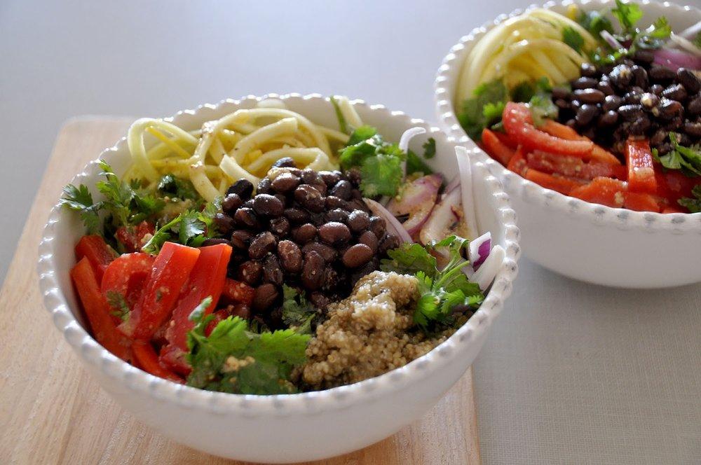 Van Life Q&A Fresh Salad