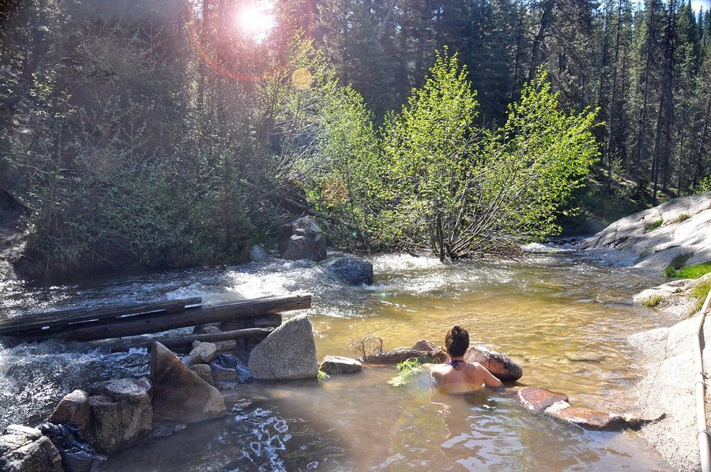 One Wild Week Road Tripping in Idaho Hot Spring
