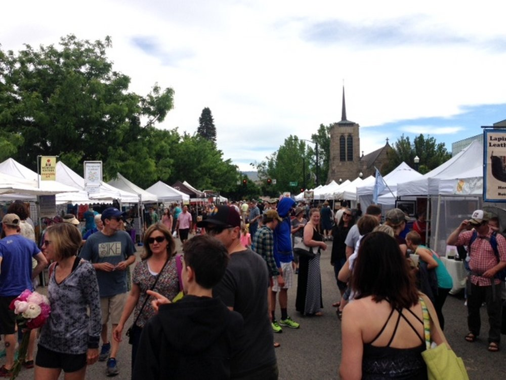 One Wild Week Road Tripping in Idaho Boise Saturday Market