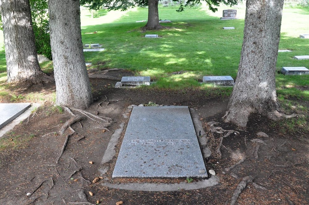 One Wild Week Road Tripping in Idaho Earnest Hemingway's grave