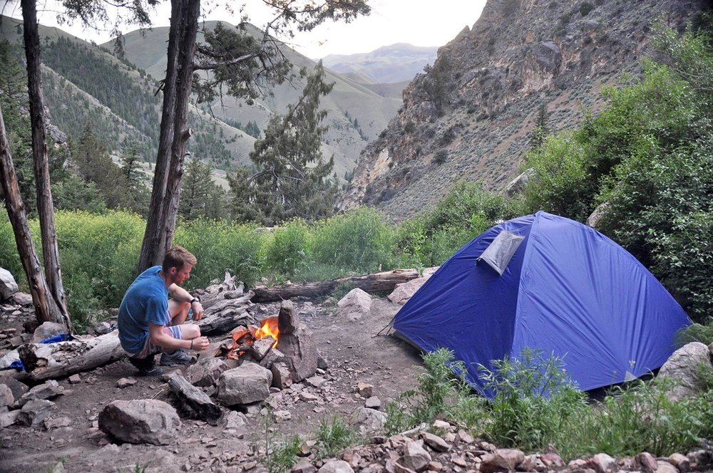 Camping at Goldbug Hot Springs One Wild Week Road Tripping in Idaho